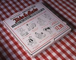 round table pizza box take bake