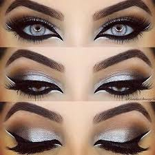 y silver eye look by carolinebeautyinc angelica sky white eyeliner makeupperfect cat