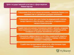 Презентация на тему Доклад о результатах и основных направлениях  5 5 Цели государственной политики