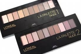 la palette 1 and 2