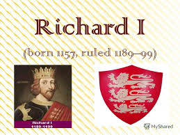 Image result for reigned from 1189-1199