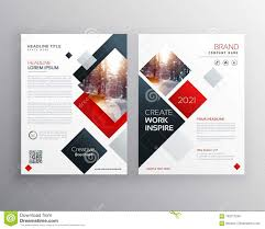 Design Brochure Template Creative Business Brochure Template Design In Size A4 Stock
