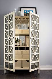 <p>Happy hour gets an upgrade thanks to the elegant bar cabinet</