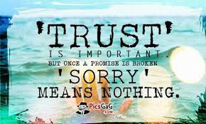 trust is important - AmusingFun.com | Pictures and Graphics for ... via Relatably.com