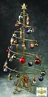 Spiral Ornament Display Stand Ornament Trees Spiral Wire Ornament Tree 100 Foot Ornament 2