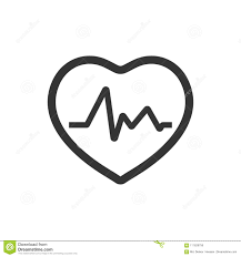 Heart Rate Icon Stock Vector Illustration Of Monitor