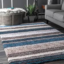 nuloom hjzom1b hand tufted classie rug 8 x 10 blue multi