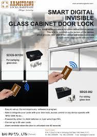 invisible glass cabinet lock sdgs 002