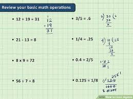 image titled learn algebra step 1