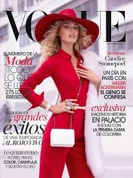 beautiful blonde victoria s secret model candice swanepoel modeling for the cover of vogue mexico wearing beautiful