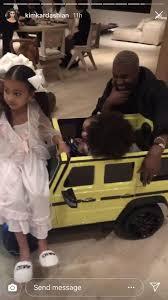 Taking to instagram, kardashian revealed that husband. Kim Kardashian S Daughter Chicago West Gets A Mini Mercedes G Wagon For Her First Birthday