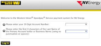 Nv Informerbox Online - Union Western Speedpay With Your Pay Energy Bill