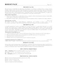 Sample Executive Profile Summary Resume Examples For Resumes