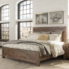 wood panel bed. Griffith Wood Panel Bed In Burnt Ember Humble Abode