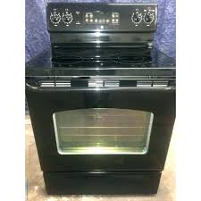 electric range top. Glass Top Electric Stove Burner Covers Black Oven 4 Cleaning Range