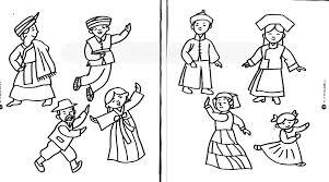 Image result for 马来舞蹈水彩画