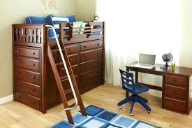 full image for pawsitively yours twin loft bed with desk and storage twin rodeo loft bed