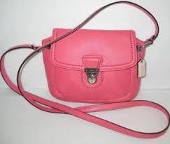 Pink Coach Poppy Purse