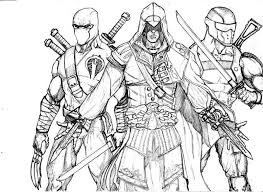 Assassin Coloring Pages Related Keywords Suggestions Assassin