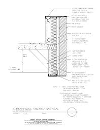 curtain wall details view detail cad pdf image