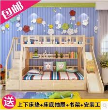 bunk bed with slide for girls. Boys And Girls Childrens Bed Bunk Mother Child Height Picture Slide Ladder Cabinet Composition With For