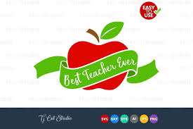 Free handwritten svg cut files | lovesvg.com. Best Teacher Ever Best Teacher Svg Teacher Gift Svg Files For Silhouette Cameo Or Cricut Commercial Personal Use 104517 Cut Files Design Bundles