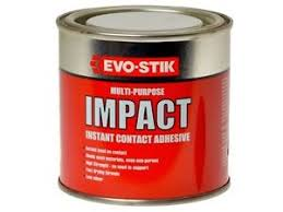impact multi purpose instant contact adhesive evo stik ml image is loading impact multi purpose instant contact adhesive evo stik