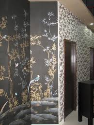 wallpaper for master bedroom elegant magnificence hand painted wallpaper chinoiserie full size image