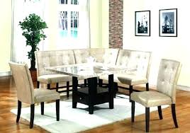 decoration booth style dining set brilliant table room tables astonishing with regard to 11 from