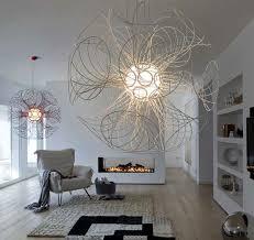 modern chandelier design by brian rasmussen architects