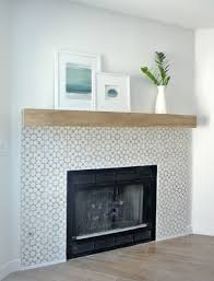 changing fireplace surround tiled 19