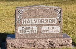 Carrie Halvorson (1890-1969) - Find A Grave Memorial