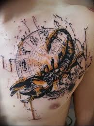 фото созвездие скорпиона тату 12072019 043 Constellation