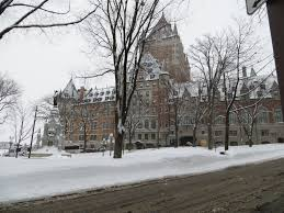 a winter walk in qu eacute bec city a photo essay gone the family quebec chateau frontenac winter day