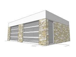Modern Garage Plan, 052G-0007