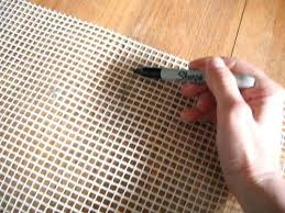 latch hook rugs then with a rotary mat ruler and rotary cutter with a pinking blade latch hook rugs