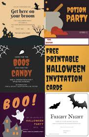 halloween invitations cards free printable halloween invitation cards halloween