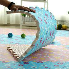 60cm <b>baby flower</b> printing <b>puzzle</b> mats foam floor carpet crawling ...