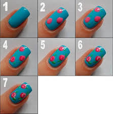 creative diy nail art designs that are actually easy to do polka dots
