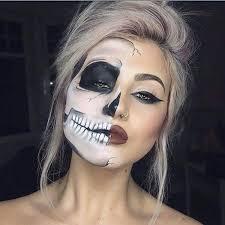 looks half face makeupsugar