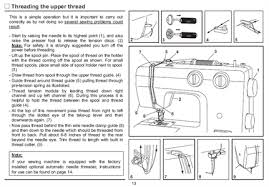 How To Thread Singer Sewing Machine E99670