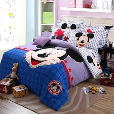popular mickey mouse king size bedding set