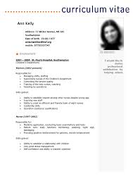 cv template word francais french cv example sample curriculum vitae format seatle 8 best