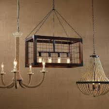 rectangular wood chandelier s chandeliers and iron metal