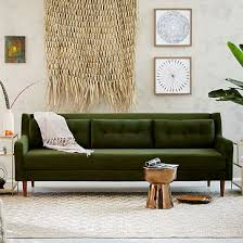 crosby mid century sofa 92