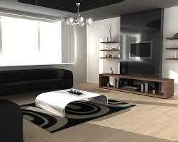 modern black white minimalist furniture interior. simple interior furnitureminimalist living area decor with modern furniture design also  metallic table and black sofa intended white minimalist interior o