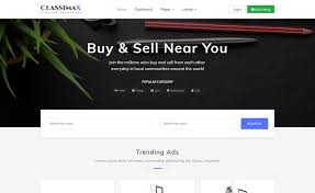 Classimax Bootstrap 4 Classified Website Template