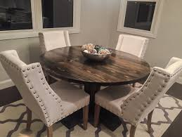 54 round pedestal table
