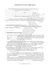 event agreement contract event planners and events b df a ca fd d cover letter