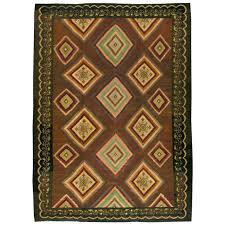 vintage turkish flat weave kilim rug for